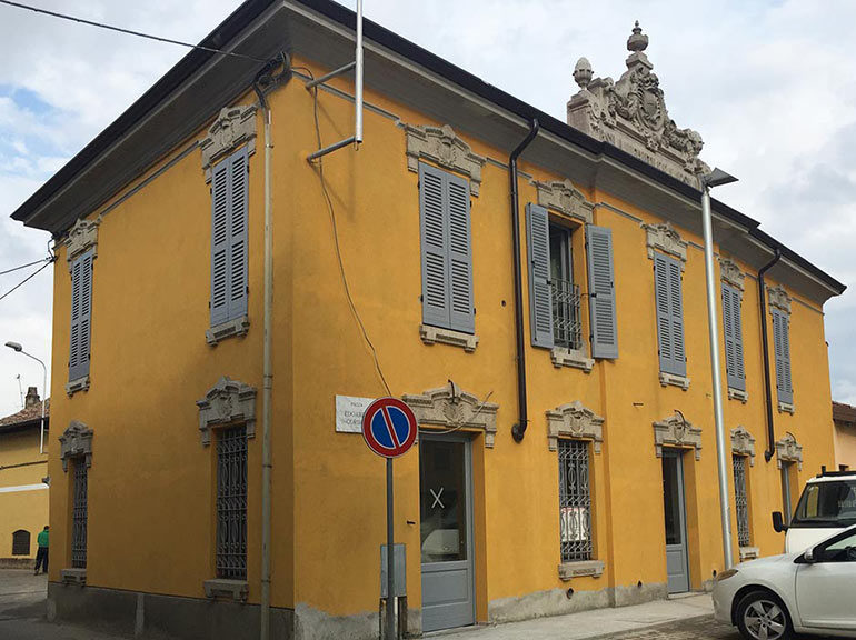 Ristrutturazione edificio storico, Remondò