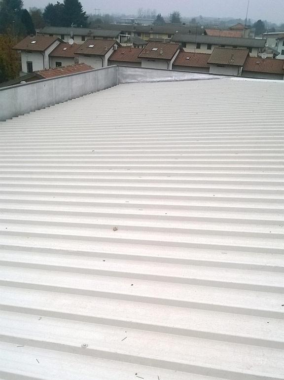 bonifica amianto e rifacimento tetto a Gambolò